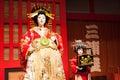 Japanese kabuki performers Royalty Free Stock Photo