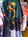 Japanese kimonos Royalty Free Stock Photo