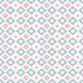 Japanese Kogin embroidery. Seamless pattern.