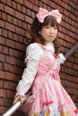 Japanese lolita cosplay Stock Photos