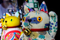 Japanese lucky cat Stock Images
