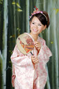 Japanese Maiko, Japanese Woman,Asian Woman Royalty Free Stock Photo