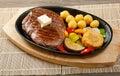 Japanese marbled beef  Roast Royalty Free Stock Photo