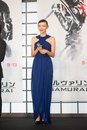 Japanese model rila fukushima august tokyo japan – appears at the japan premiere for the wolverine by james mangold in the Stock Photography