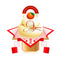 Japanese New Year decoration Stock Images