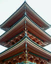 Japanese pagoda Royalty Free Stock Images