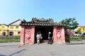 Japanese pagoda or bridge pagoda in hoi an ancient town hoian vietnam jan at january hoian vietnam hoian is recognized as a Stock Photos