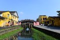 Japanese pagoda or bridge pagoda in hoi an ancient town hoian vietnam jan at january hoian vietnam hoian is recognized as a Stock Image