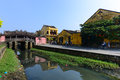 Japanese pagoda or bridge pagoda in hoi an ancient town hoian vietnam jan at january hoian vietnam hoian is recognized as a Royalty Free Stock Images