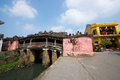 Japanese pagoda or bridge pagoda in hoi an ancient town hoian vietnam jan at january hoian vietnam hoian is recognized as a Royalty Free Stock Photos