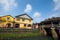Japanese pagoda or bridge pagoda in hoi an ancient town hoian vietnam jan at january hoian vietnam hoian is recognized as a Stock Photo