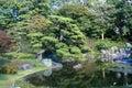 Japanese park Royalty Free Stock Photo