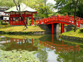 Japanese parks Royalty Free Stock Images