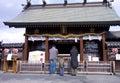Japanese people new year pray temple shrine Royalty Free Stock Photo