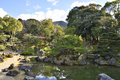 Japanese Pond Garden Landscape Royalty Free Stock Photo