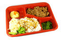 Japanese Quick Meal Set Stock Photo