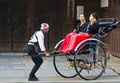 Japanese rickshaw Royalty Free Stock Images