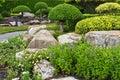 Japanese's garden Royalty Free Stock Photo
