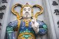 Japanese samurai warrior Royalty Free Stock Photo