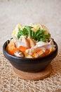 Japanese Seafood Hot Pot Royalty Free Stock Photo