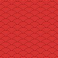 Japanese Seamless Wave Pattern...