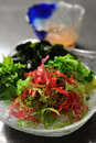 Japanese seaweed salad Royalty Free Stock Photo