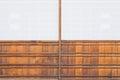 Japanese sliding paper door Shoji Royalty Free Stock Photo
