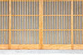 Japanese sliding paper door texture of shoji Royalty Free Stock Photo