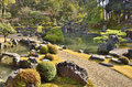 Japanese Stone Bridges Royalty Free Stock Photo