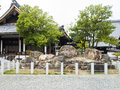 Japanese stone garden Royalty Free Stock Photo
