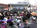Japanese Street Festival Crowd Royalty Free Stock Photo