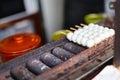 Japanese street food Royalty Free Stock Photo