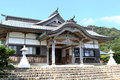 Japanese style house a at udo jingū shinto shrine located in nichinan miyazaki prefecture japan Royalty Free Stock Photos