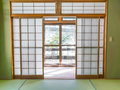 Japanese style room . Royalty Free Stock Photo