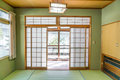.Japanese style room Royalty Free Stock Photo
