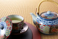 Japanese-style tea break Royalty Free Stock Photos