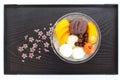 Japanese summer dessert Royalty Free Stock Photo