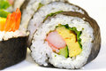 Japanese sushi roll Royalty Free Stock Photography