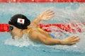 Japanese swimmer Natsumi Hoshi