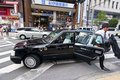 Japanese taxi Stock Photos