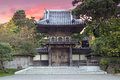 Japanese Tea Garden Entrance Royalty Free Stock Photo
