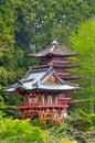 Japanese Tea Garden In Golden Gat Park San Francisco - California