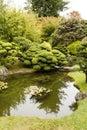 The Japanese Tea Garden in Golden Gate Park in San Francisco Royalty Free Stock Photo