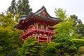 Japanese Tea Garden in San Francisco Royalty Free Stock Photo