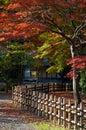 Japanese tea house Royalty Free Stock Photo