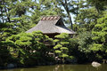 Japanese tea house Royalty Free Stock Photo
