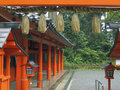 Japanese temple Stock Photography