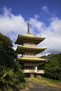 Japanese Temple Building Royalty Free Stock Photos