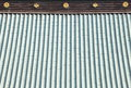 Japanese temple roof detail of Royalty Free Stock Images
