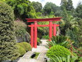 Japanese Torii gate Royalty Free Stock Photo